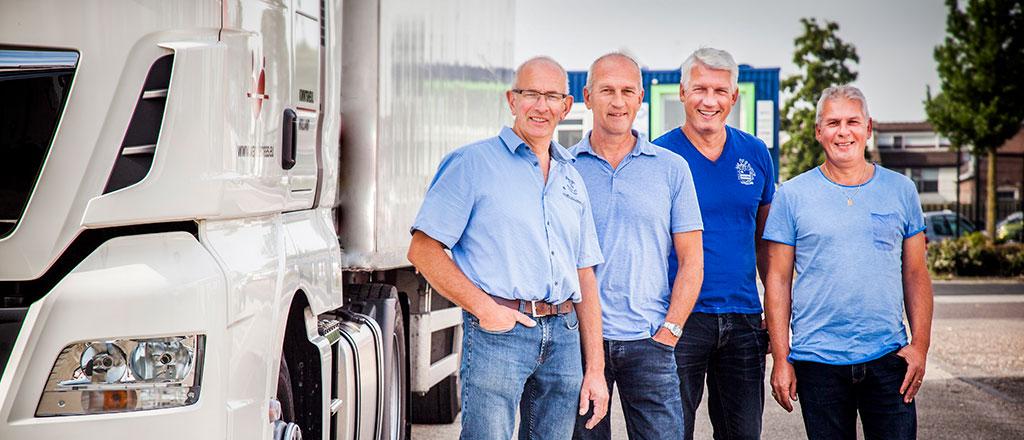 Directie van der Haas Transport staat garant voor de kwaliteit van uw plantentransport